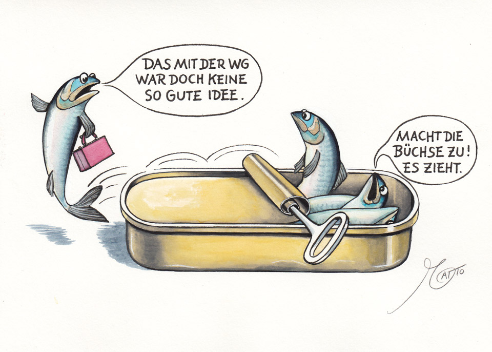 Der Kartoffelpoet Cartoon