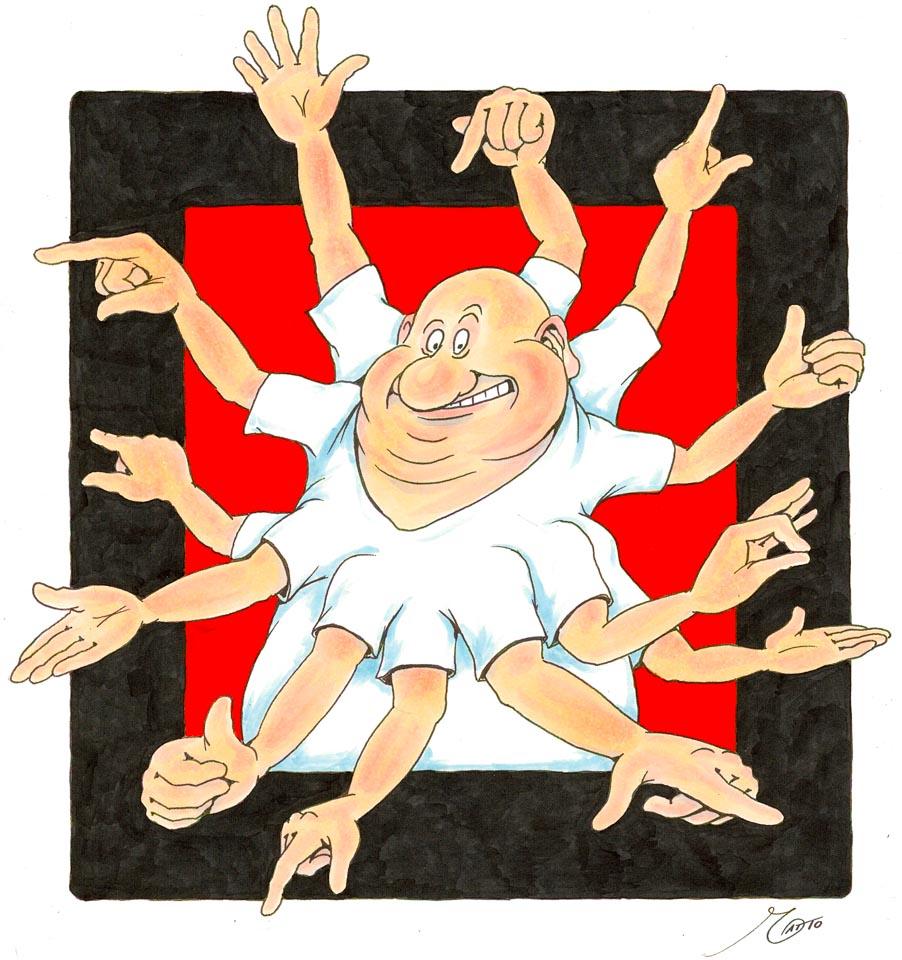 Der Verpassnix - Cartoon